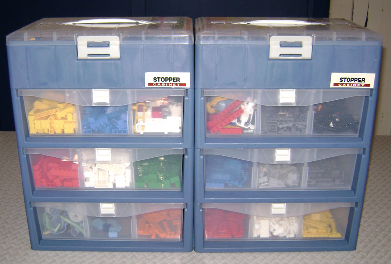 How do I store my………… LEGO??? Common Chaos