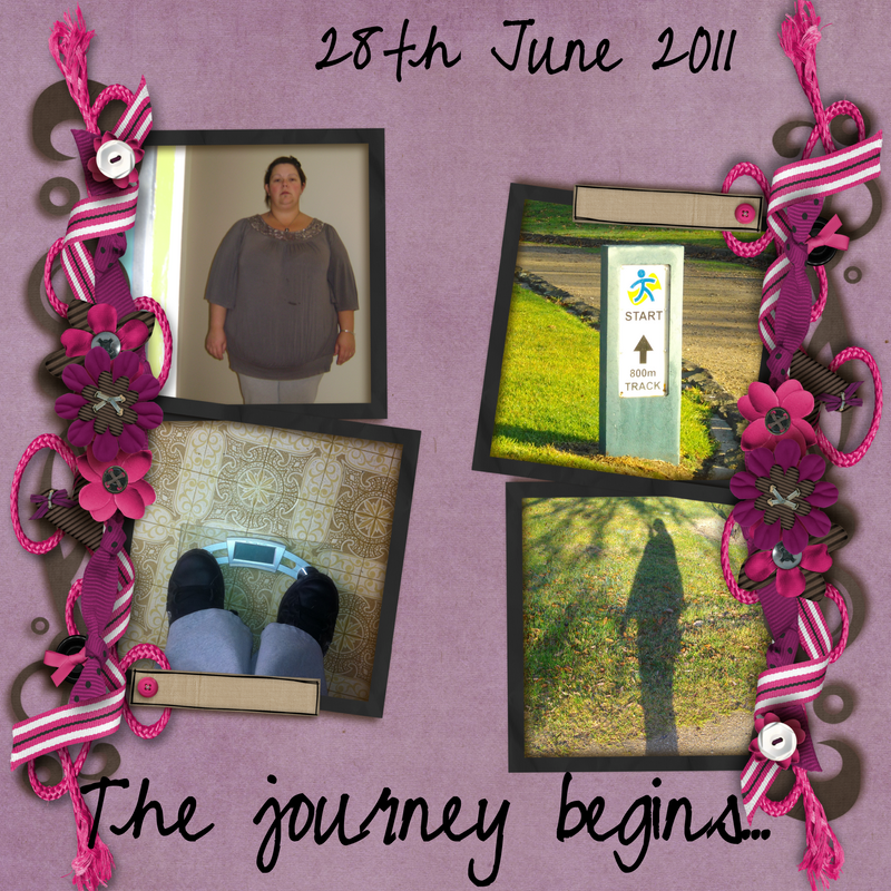 First day of weightloss journey, the before photo, standing on scales