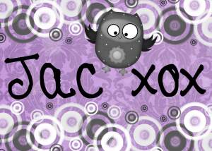 the name Jac with an owl picture