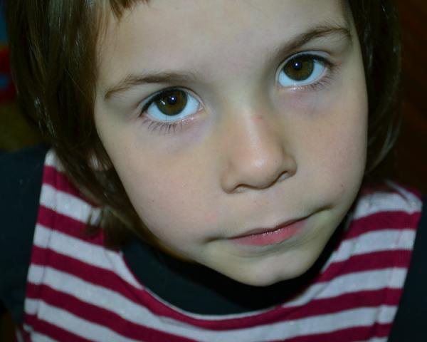 A portrait of my daughter Veruca.
