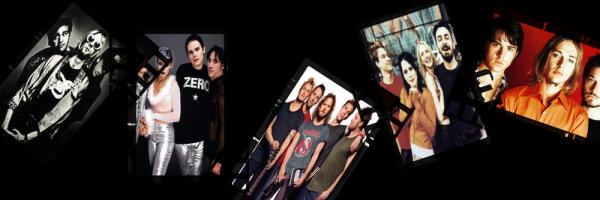 Nirvana, Pearl Jam, Smashing Pumpkins, Veruca Salt, Silverchair.