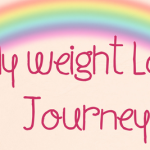 My weightloss Journey Banner