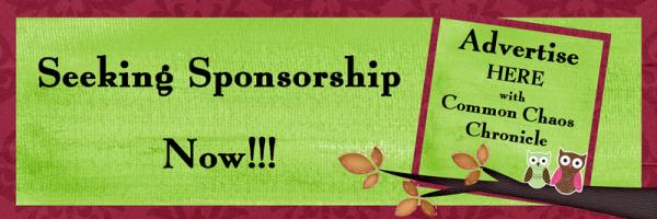 Seeking Sponsorship Now Banner