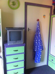 Drawers with TV