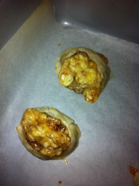 Cooked scrolls