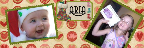 Aria at christmas