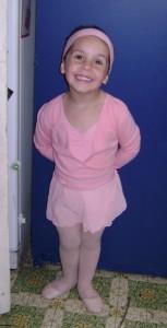 Veruca's first Ballet Lesson