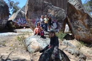 Group at The Sisters Rocks
