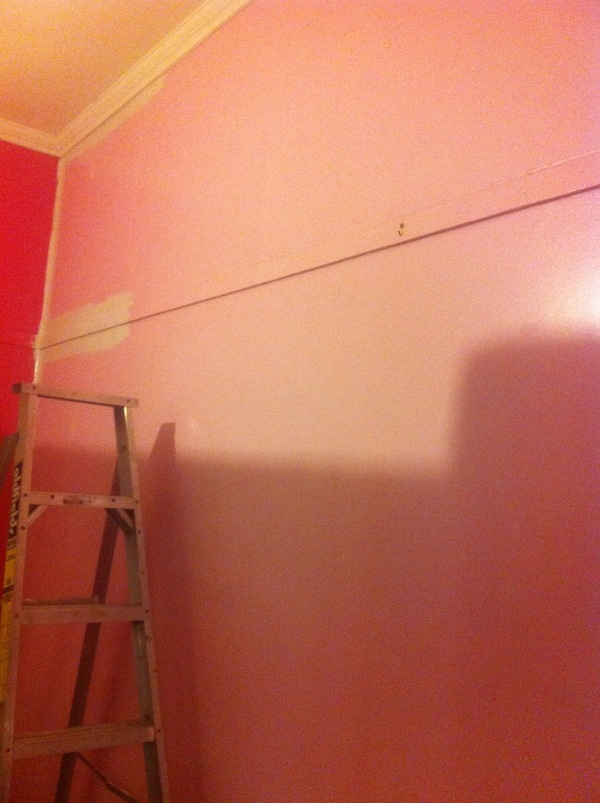 Strating to Paint.