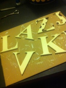 Craft Wood Letters