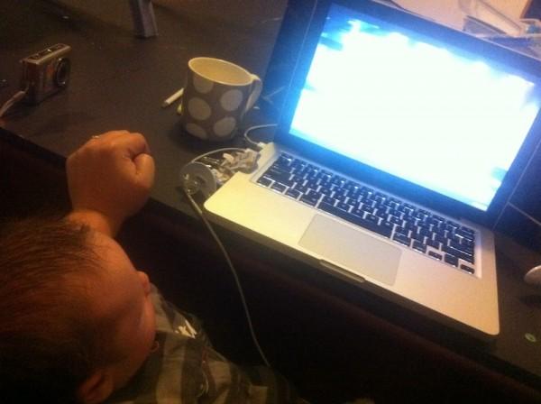 Eli starts blogging young!