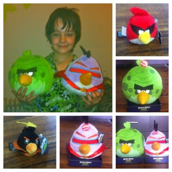 Angry Birds Space collage