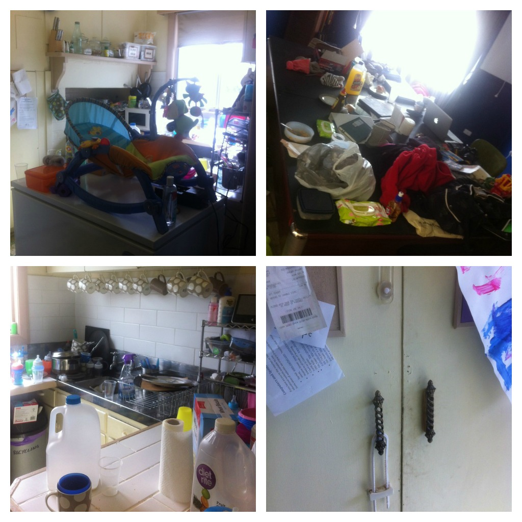 Kitchen Mess: Day 1 Of 20 Days To Organise & Clean Your Home