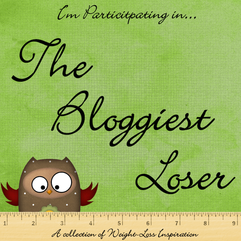 The Bloggiest Loser Button Image