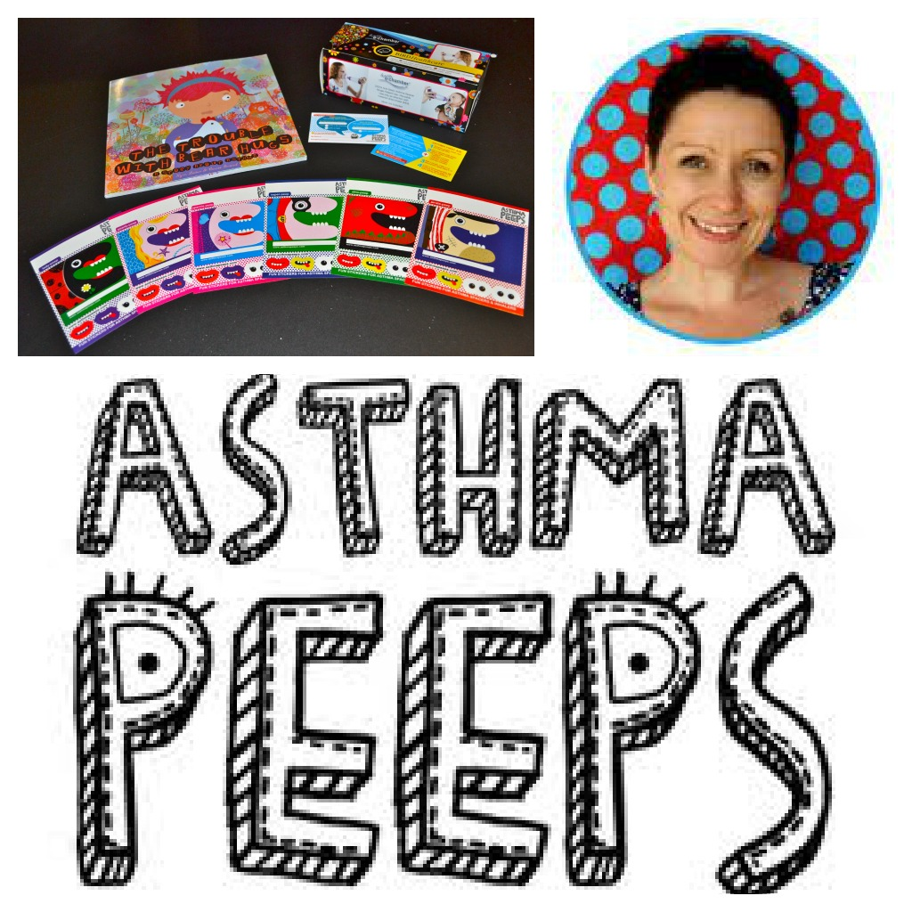 Asthma Peeps Products and Logo