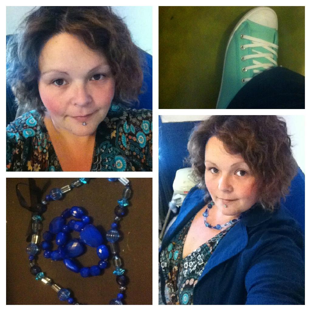 Aussie Curves Blue clothes