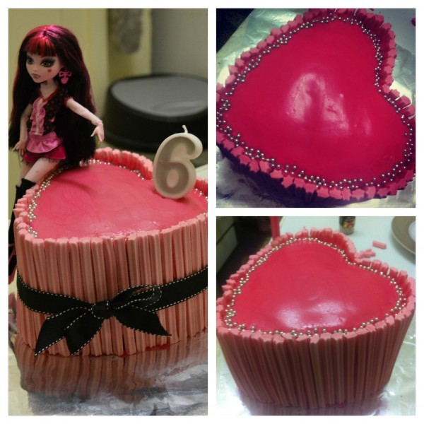 Monster High Cake 3
