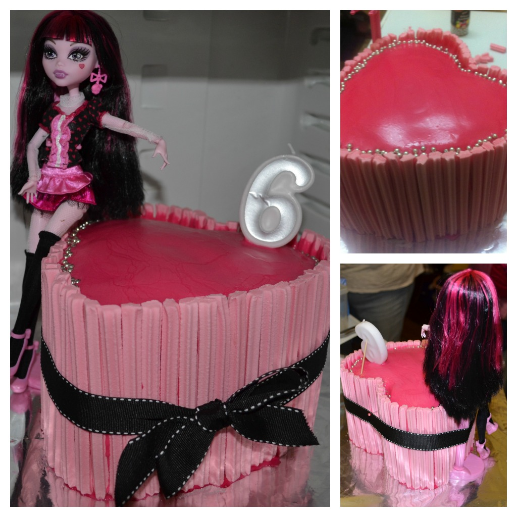 Monster High Cake 4