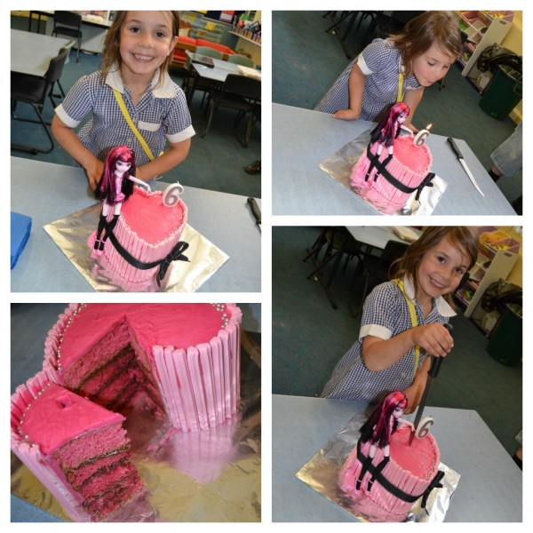 Monster High Cake at school