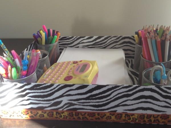 Homework Table Stationary Box