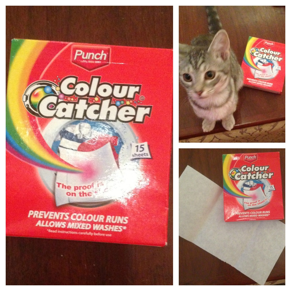 Colour catcher sheets - Washing Made Easy With Colour Catchers An Awesome Giveaway