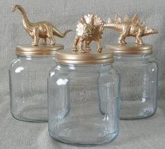 Dino Jars for toys