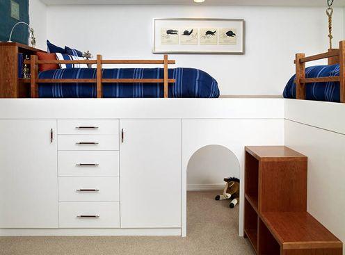 Built in bunk