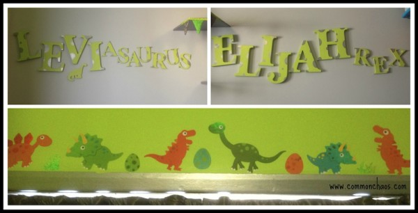 Dino Room Wall Art