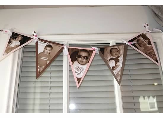 Photo Bunting Triangles