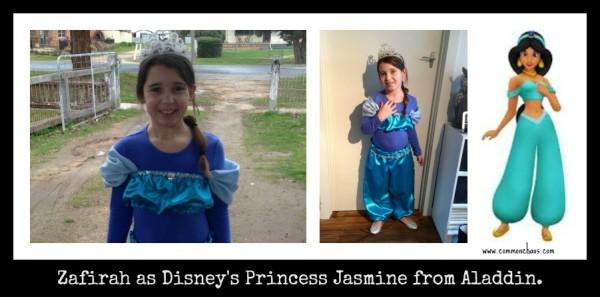 Zaf as Jasmine