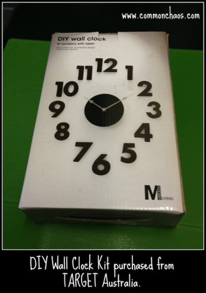 diy u2013 how to make your own clock to suit any room