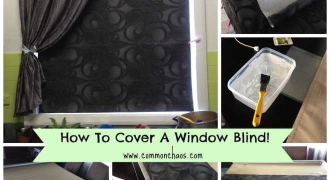 Covered Window Blind Collage