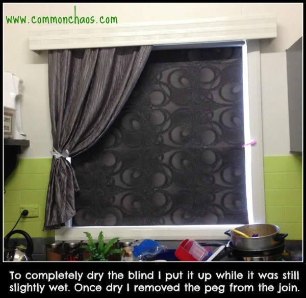 Window Blind Down