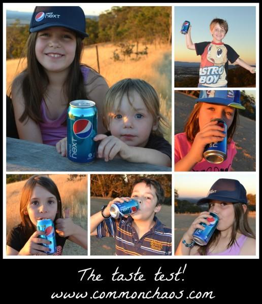 Pepsi Next Taste Test