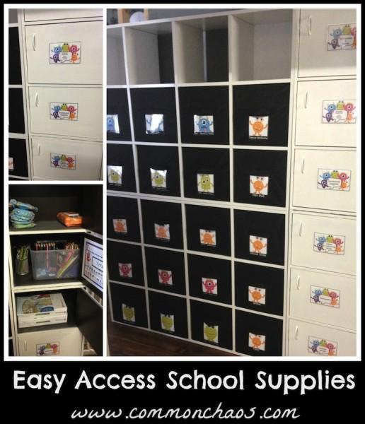 Uniform Storage  & School Supplies