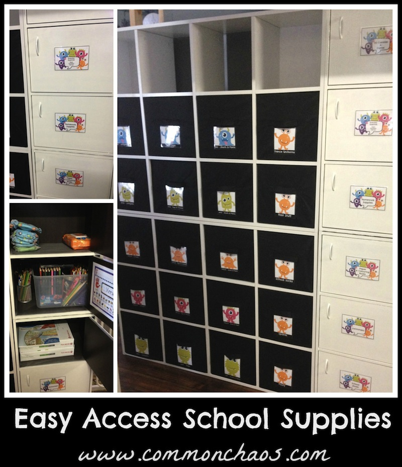 Uniform Storage & School Supplies