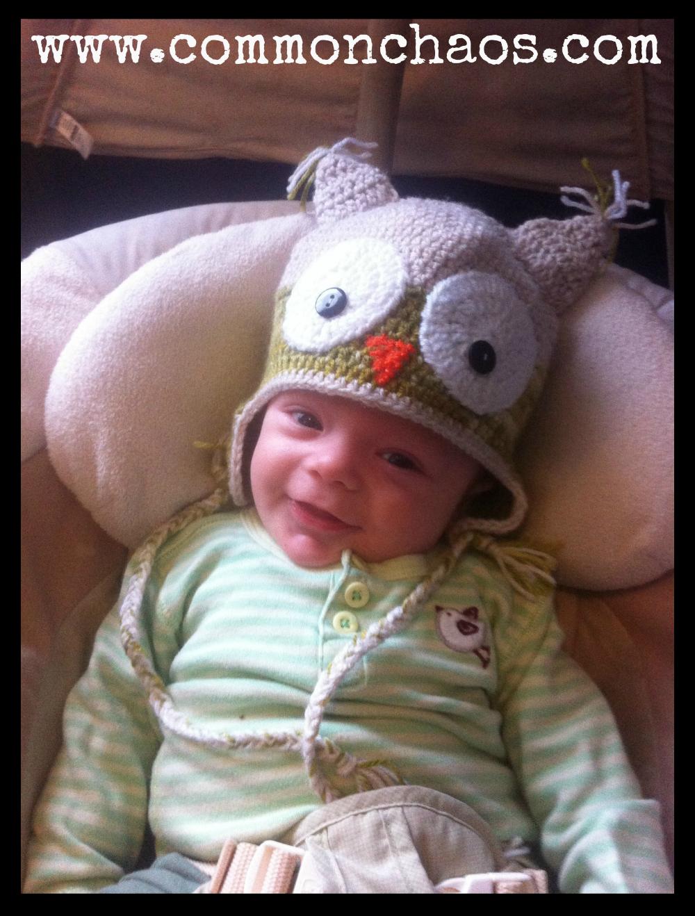 Elijah as a baby