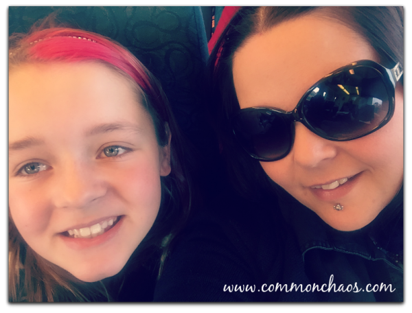 Aria and Jac On Train
