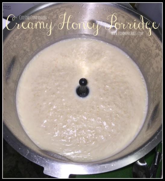 Creamy Honey Porridge 2