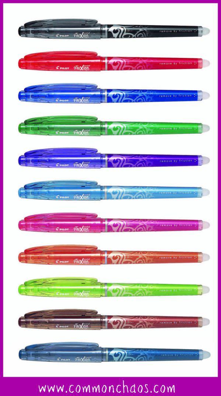 Frixion Pen Range